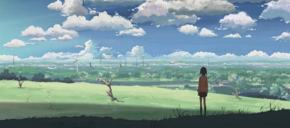 5 Centimeters Per Second © 2007 CoMix Wave. Licensed by Bandai. All Rights Reserved.